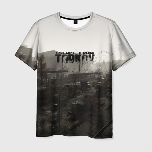 Мужская футболка 3D  Фото 03, Escape from Tarkov