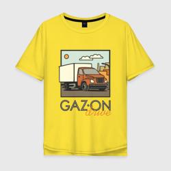 Мужская футболка хлопок OversizeGAZon drive