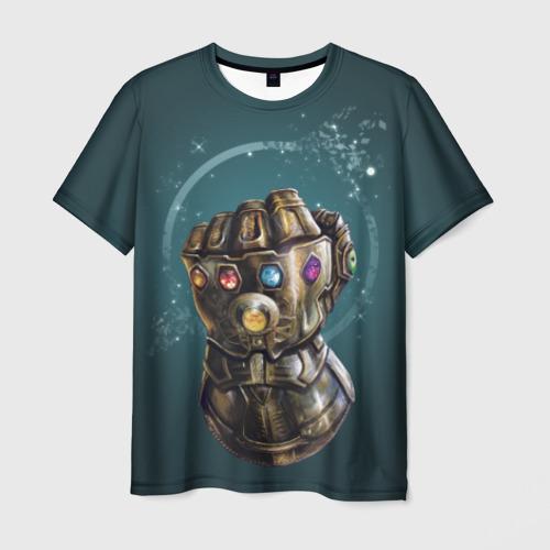 Мужская футболка 3D 'Infinity Gauntlet'