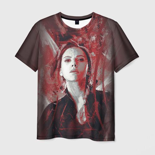 Мужская футболка 3D Black Widow