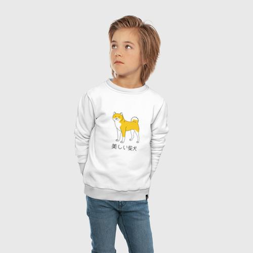 Детский свитшот хлопок Shiba Dog Фото 01