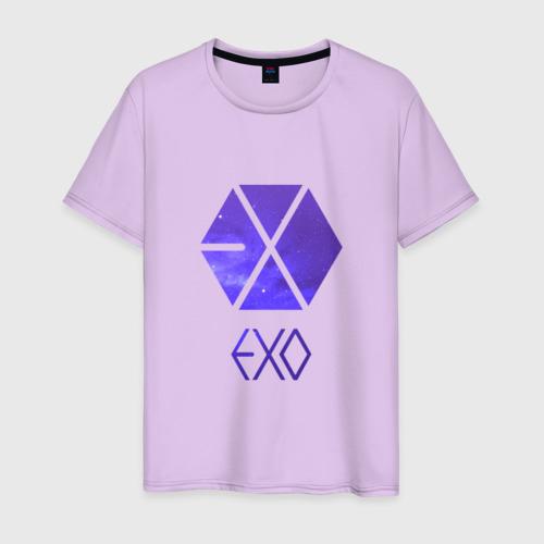 Мужская футболка хлопок EXO Galaxy Фото 01