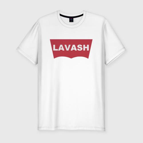 Мужская футболка хлопок Slim LAVASH Фото 01