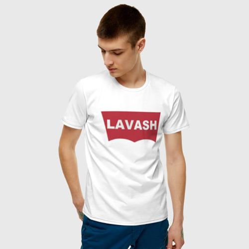 Мужская футболка хлопок LAVASH Фото 01