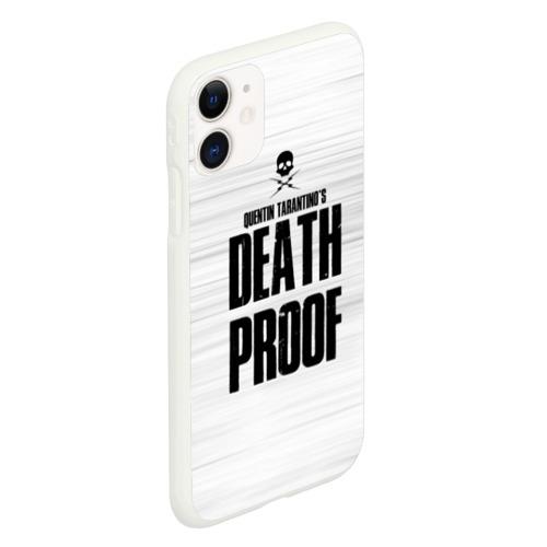 Чехол для iPhone 11 матовый Death Proof Фото 01