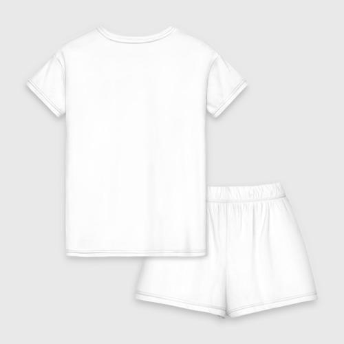 Женская пижама с шортиками хлопок Хеви метал Фото 01