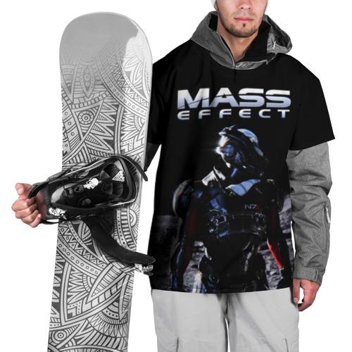 Накидка на куртку 3D Mass Effect Фото 01