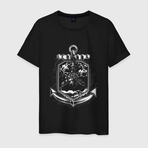 Мужская футболка хлопок Anchor