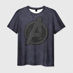 Avengers logo dark