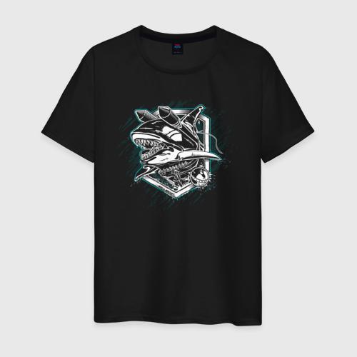 Мужская футболка хлопок Whale