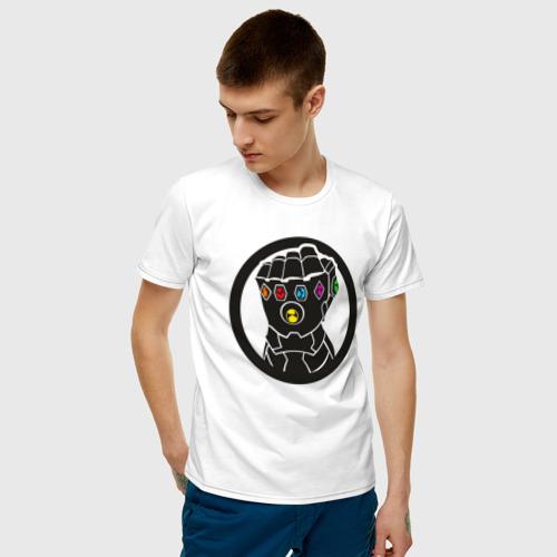 Мужская футболка хлопок Infinity Gauntlet Фото 01