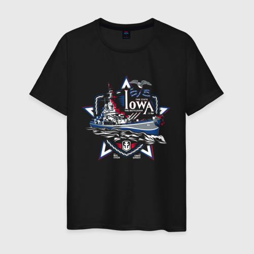 Мужская футболка хлопок Iowa