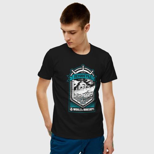 Мужская футболка хлопок Leningrad Фото 01