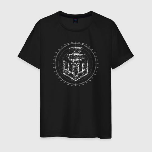 Мужская футболка хлопок Logo Radar