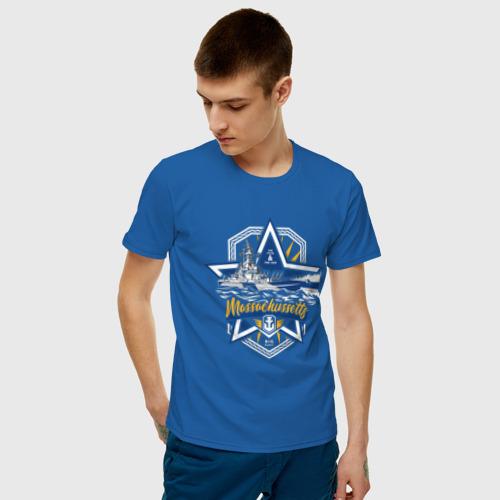 Мужская футболка хлопок  Фото 03, Massachussetts