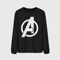 Avengers logo white