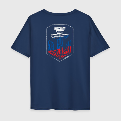 Мужская футболка хлопок Oversize Nations Russia Фото 01