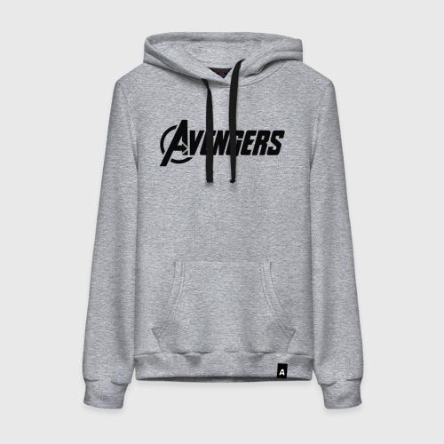 Avengers logo black