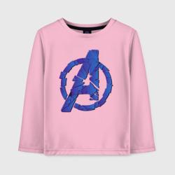Avengers logo blue