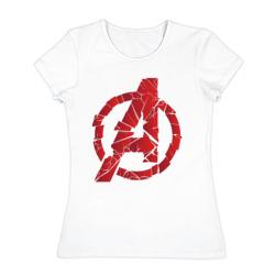 Avengers logo red - интернет магазин Futbolkaa.ru