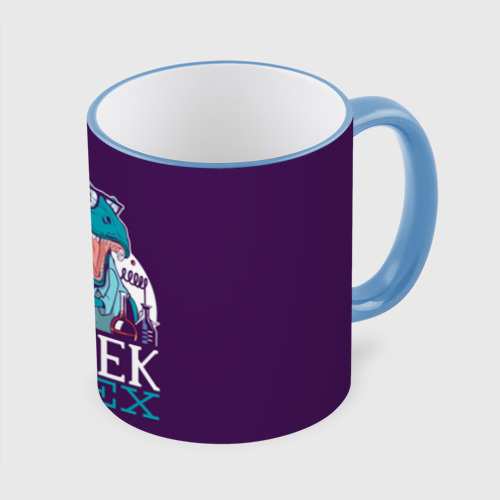 Кружка с полной запечаткой Geek Rex
