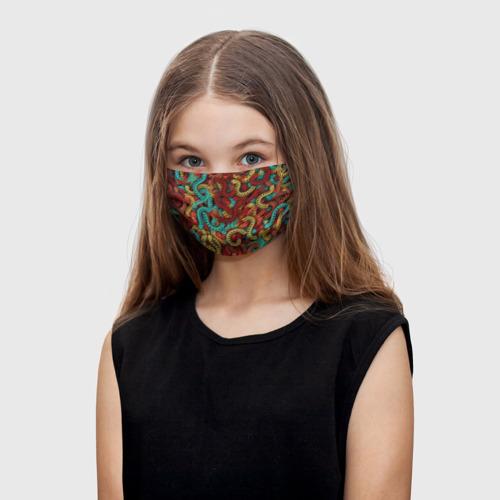 Детская маска (+5 фильтров) Кетцалькоатли One фото