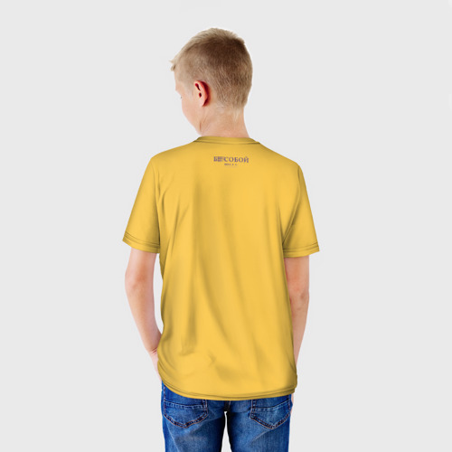 Детская футболка 3D  Фото 02, Козёл Бесобой