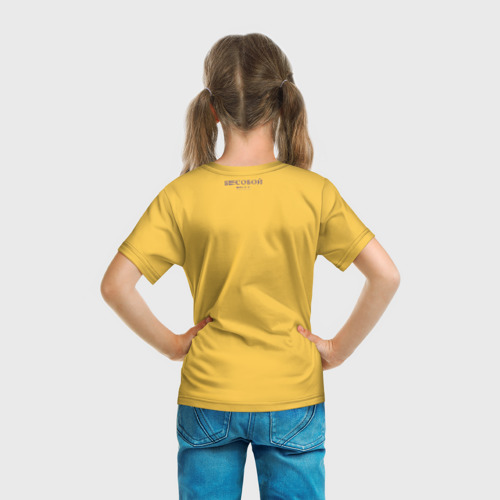 Детская футболка 3D  Фото 04, Козёл Бесобой