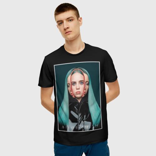 Мужская футболка 3D Billie Eilish Фото 01
