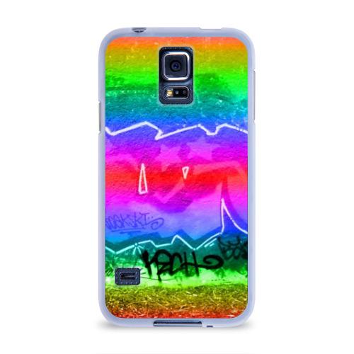 Чехол для Samsung Galaxy S5 силиконовый  Фото 01, GRAFFITI NEON