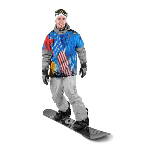 Накидка на куртку 3D GRAFFITI USA Фото 01