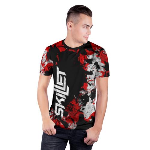 Мужская футболка 3D спортивная  Фото 03, SKILLET