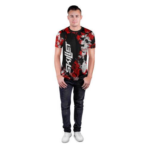 Мужская футболка 3D спортивная  Фото 04, SKILLET