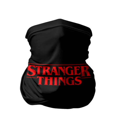 Бандана-труба 3D STRANGER THINGS Фото 01