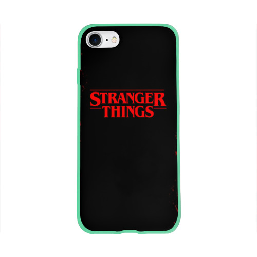 Чехол для Apple iPhone 8 силиконовый глянцевый STRANGER THINGS Фото 01