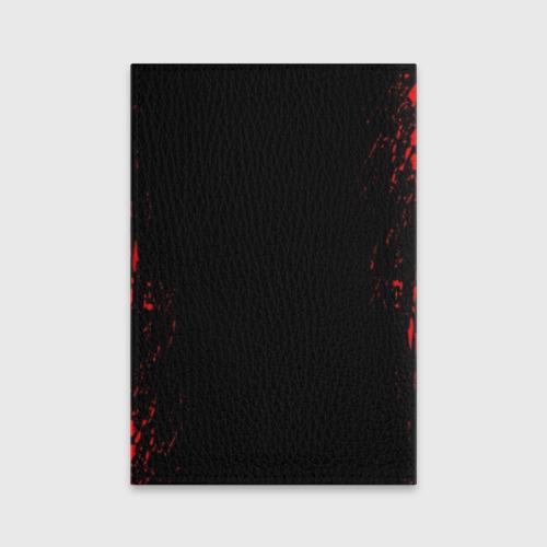 Обложка для паспорта матовая кожа STRANGER THINGS Фото 01