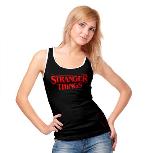 Женская майка 3D STRANGER THINGS Фото 01
