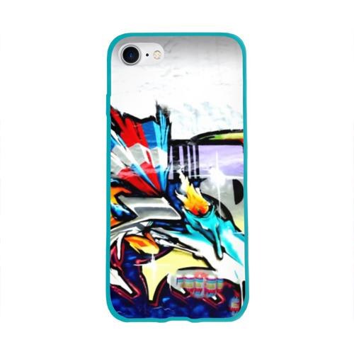 Чехол для Apple iPhone 8 силиконовый глянцевый Я художник Фото 01