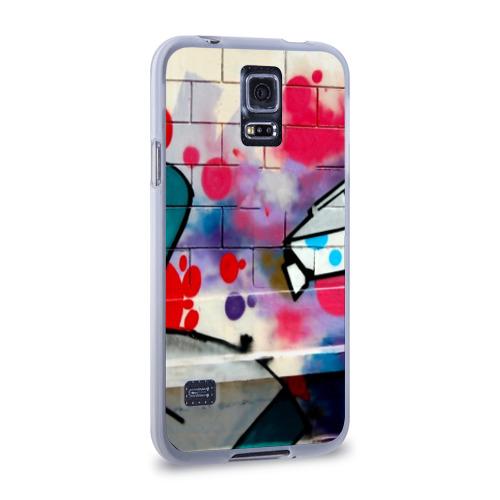 Чехол для Samsung Galaxy S5 силиконовый  Фото 02, graffiti