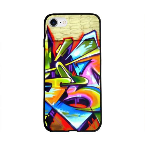 Чехол для Apple iPhone 8 силиконовый глянцевый Кислота Фото 01