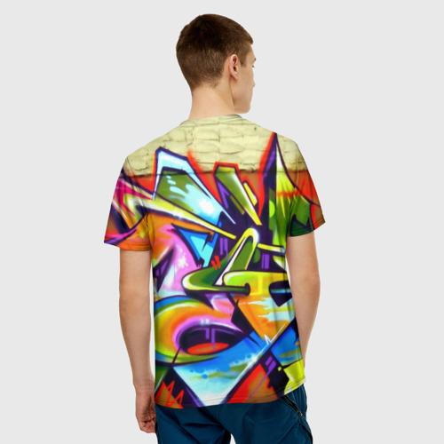 Мужская футболка 3D Кислота Фото 01