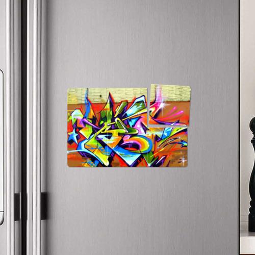 Магнитный плакат 3Х2 Кислота Фото 01