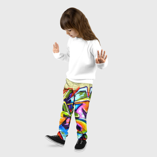 Детские брюки 3D Кислота Фото 01