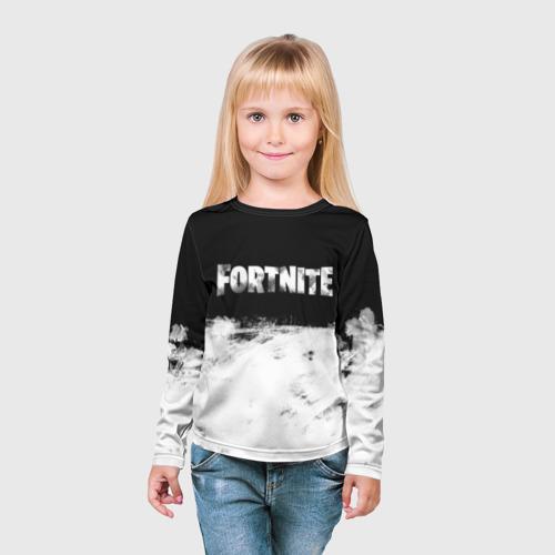Детский лонгслив 3D Fortnite Фото 01