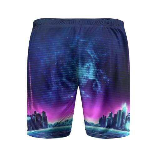 Мужские шорты 3D спортивные Cyberpunk 2077 Фото 01