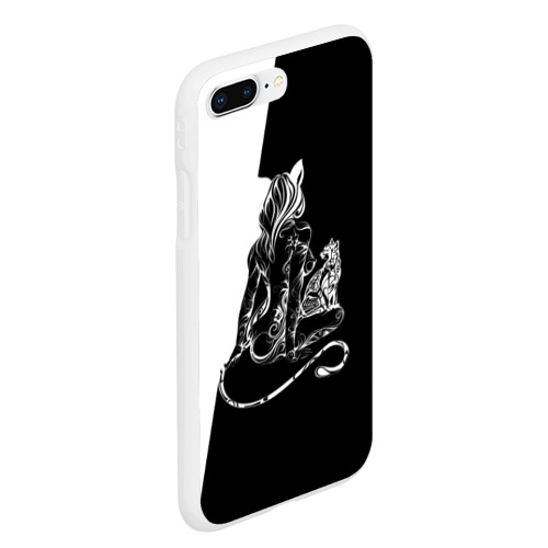 Чехол для iPhone 7Plus/8 Plus матовый Кошка Фото 01