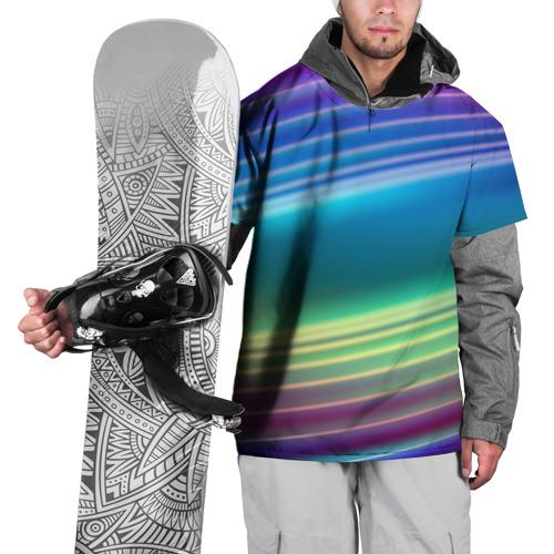 Накидка на куртку 3D Neon lines Фото 01