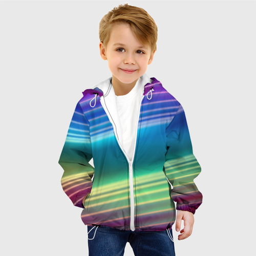 Детская куртка 3D Neon lines Фото 01