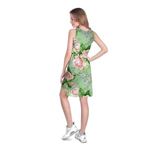 Платье-майка 3D Розы и васильки Фото 01
