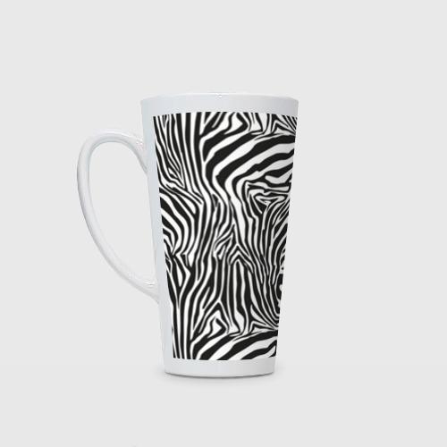 Кружка Латте Полосы зебры
